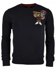 One Jumper Airborne Sweater  Navy, Roberto-Romero