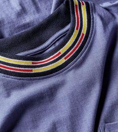 Stussy Block Jacquard Crew Long-Sleeved T-Shirt