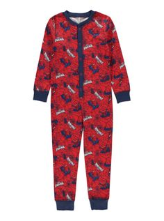 AOP spiderman  onesie