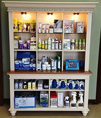 Attractive Veterinary Retail Space at T.L.C. Animal Hospital - Products