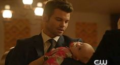 "Elijah cuddles with baby Hope in The originals 2x08 episode ""The Brothers That Care Forgot""! In The Originals sneak peek 1 for 2x08 ""The Brothers That Care F(...)"