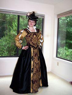 Jessica's Ren Dress by PlatypusDreams.deviantart.com