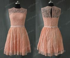 lace prom dress bridesmaid blush bridesmaid dress by sofitdress, $136.00 we can customize the color