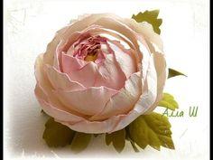 МК Цветы из фоамирана. Простой способ создания красивого украшения.