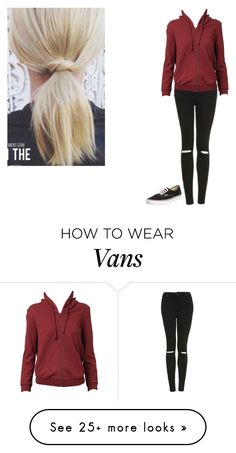 """""""Untitled #963"""" by grace-jaeger on Polyvore featuring Vans, Topshop and Vetements"""