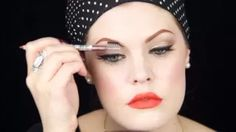 HollywoodNoirMakeup - YouTube