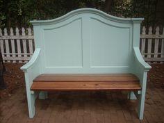 headboard bench.