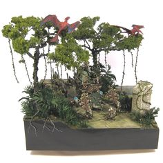 [Commission/Golden Demon]GDUK2013 Finalist Lizardmen Diorama - Forum - DakkaDakka | One Dakka just isn't enough.