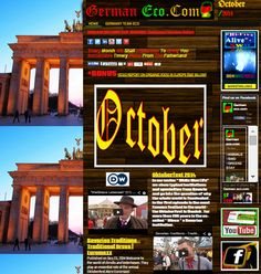 #GERMANY #ECO  #ORGANIC #VIDEOS #OKTOBERFEST #SWD #GREEN2STAY 'Updated German Eco.Com Links And More... http://deutscheco.webs.com/