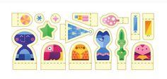 Felices fiestas en el doodle de Google