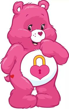 Pink Care Bear Lockscreen Wallpaper