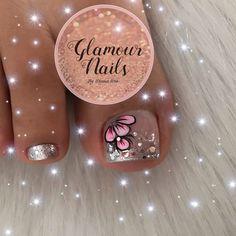 Glamour Nails, Amanda, Manicure, Toe, Design, Simple Toe Nails, Toe Nail Art, Gel Toe Nails, Flare Nails