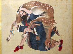 夷酋列像展 Ainu People, Korean Art, Ancient Civilizations, Pattern Design, Disney Characters, Fictional Characters, Japanese, Culture, Cherry Blossoms