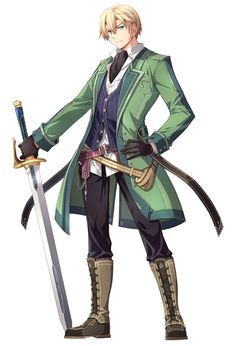 Jusis Albarea from The Legend of Heroes: Trails of Cold Steel II