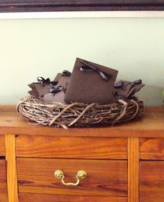 Simply Southern Events: Baby Showers, Adding to their nest; guests write advice and well wishes