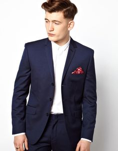 $257, Vito Suit Jacket With 3 Buttons. Sold by Asos. Click for more info: https://lookastic.com/men/shop_items/202471/redirect