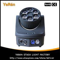 6 Eyes Beam Led Moving Head Light 6*15W Quad 4in1 RGBW Led Moving Head DJ Beam Effect Lighting Light #Affiliate