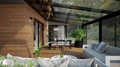 Aranżacje wnętrz - Taras: dom jednorodzinny - Duży taras z tyłu domu, styl nowoczesny - TK Architekci. Przeglądaj, dodawaj i zapisuj najlepsze zdjęcia, pomysły i inspiracje designerskie. W bazie mamy już prawie milion fotografii!