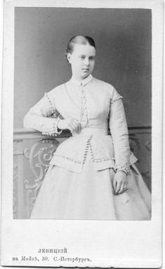 1860s Grand Duchess Marie Alexandrovna, Duchess of Edinburgh and Coburg