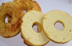 "NUTRITIONAL COMPARISON (per bagel)  Panara Asiago Bagel = 350 calories, 60 carbs, 2g fiber  ""Healthified"" Parmesan Bagel = 88 calories, 2.1 carbs, 1.8g fiber"