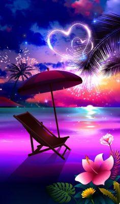 Sunrise Wallpaper, Neon Wallpaper, Beach Wallpaper, Summer Wallpaper, Iphone Background Wallpaper, Cool Backgrounds, Colorful Wallpaper, Motion Wallpapers, Beauty And The Beast Movie