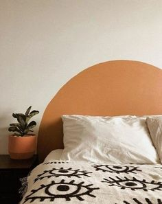 Rustic Home Decor Painted Circle Headboards Home Decor Bedroom, Bedroom Wall, Wall Headboard, Bedroom Headboards, Bedroom Quotes, Bedroom Signs, Bedroom Rustic, Diy Bedroom, Master Bedrooms