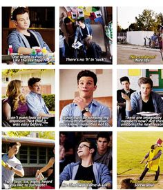 Chris Colfer. You are one funny guy!