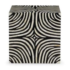 Bernhardt | Zebra Cube (344-125)