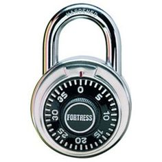 A combination lock can be used as a fidget toy as well!