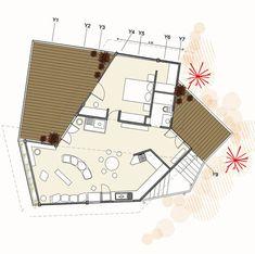 Galería de Casa en la punta del cerro / Lotecircular - 10 Container Cabin, Prefab Homes, Home Renovation, Ideas Para, My House, House Plans, Floor Plans, House Design, Architecture