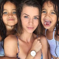 // I wish it was Hot outside so I could Go swim and eat Some ice Cream! Cute Family, Family Goals, Beautiful Family, Family Kids, Beautiful Children, Beautiful Babies, Gorgeous Girl, Couple Goals, Mommy And Me