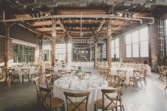 Lilia Andrew S Vintage Brewery Wedding Blush And Bowties