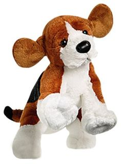 WEBKINZ - Beagle by Ganz. Save 13 Off!. $12.99. From the Manufacturer                Webkinz are stuffed animals that come alive online in Webkinz World.  Keep your pet happy and healthy and build and furnish a home with cool furniture                                    Product Description                Webkinz pets are lovable plush pets that each come with a unique SECRET CODE. With it, you enter Webkinz World where you care for your virtual pet, answer trivia, earn KINZCASH to c...