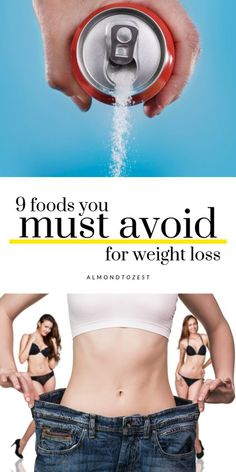 Losing weight is hard. Make sure you& not sabotaging your weight loss by consuming these 9 common foods. Weight Loss Diet Plan, Weight Loss Drinks, Weight Loss Plans, Fast Weight Loss, Weight Loss Program, Weight Loss Transformation, Healthy Weight Loss, Weight Loss Tips, How To Lose Weight Fast