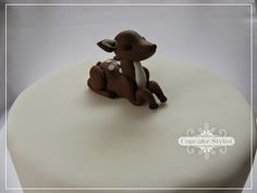 fondant+deer | 30 Days of Fondant. Cupcake & Cake Toppers by Cupcake Stylist: day 11 ...