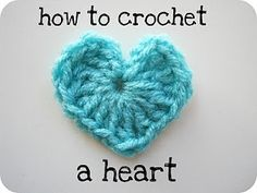 crocheting? to honor my grandma, I'm going to learn how to do this and give everyone I love a little heart to carry with them! :)