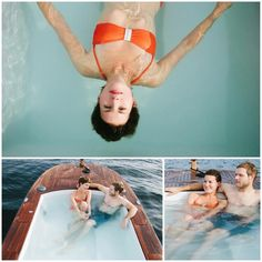 © Cameron Zegers Photography  www.hottubboats.com  Experience comfort, relaxation and revolving scenery year-round