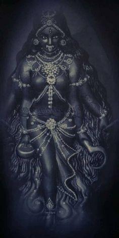 Indian Goddess Kali, Divine Goddess, Goddess Art, Durga Goddess, Mother Kali, Mother Goddess, Lord Durga, Kali Mata, Bhagavata Purana