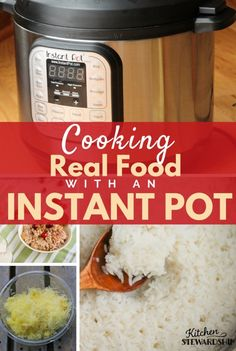 The Instant Pot isn't just a one hit wonder! You can make hard boiled eggs, rice, applesauce, cauli-rice, steam veggies, cook chicken and much more.