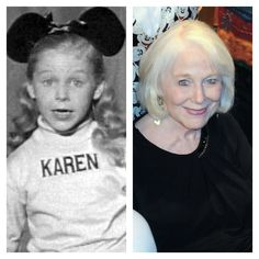 See the Original 'Mickey Mouse Club' Mouseketeers Then and Now! Karen Pendleton paralyzed from the waist down after a car accident, but she went back to college, got a degree, and then worked in a battered women's shelter. Actors Then And Now, Celebrities Then And Now, Young Celebrities, Disney Day, Disney Mickey Mouse, Walt Disney, Disney Stuff, Minnie Mouse, Original Mickey Mouse Club