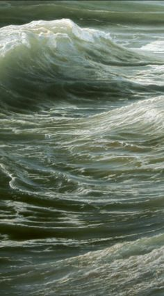 """Swell "" - oil on canvas ( detail ), Ran Ortner ( 2006)"