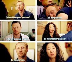 Grey's Anatomy - Be My Freaking Person!
