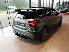 Mercedes-AMG A45 Petronas World Champions F1 Edition. https://youtu.be/18HZnZjsRMo by Kevin Clement