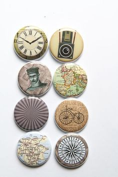 Random Vintage Flair 2- A Flair for Buttons on Etsy $6.00