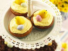 Oster-Cupcakes - smarter - Zeit: 45 Min. | eatsmarter.de