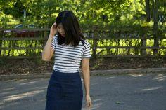 Outfit // A Classic Combination* ft. #JORDWatches Details here: http://thecraziestparadigm.blogspot.com/2015/09/outfit-classic-combination.html