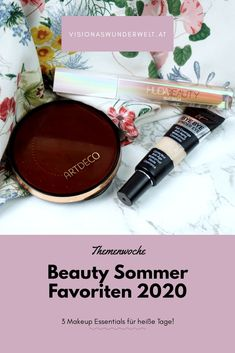 Meine Makeup Beauty Sommer Favoriten 2020 für einen leichten Sommer Look #sommerlook #sommermakeup #makeup #makeupfavoriten Concealer, Sommer Make Up, Lipgloss, Makeup Essentials, The Balm, Blog, Beauty Hacks, Tutorials, Summer Essentials