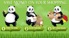 Get Your Money Back with Panda :) #profit #shopping #cashback
