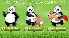 Get Your Money Back with Panda :) #profit #shopping #cashback
