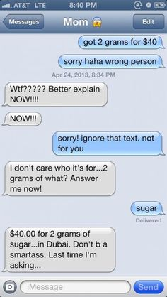 10 Hilarious Texts Between a Mom and her Child - Part 3